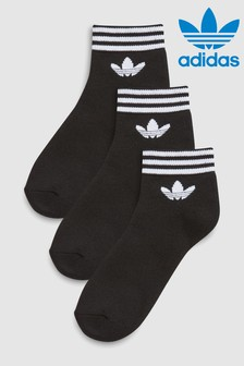 adidas Originals Black Trefoil Socks Three Pack