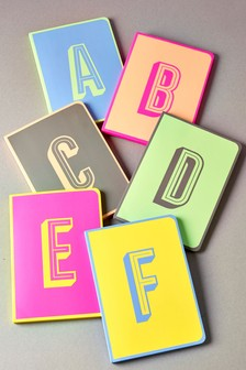 Neon A5 Monogram Notebook