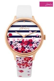 Joules Stripe Strap Watch