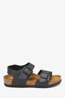 Birkenstock® Kids' Black New York Sandal