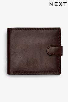 PU Popper Front Wallet