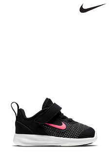 Nike Run Black/Pink Downshifter 8 Infant