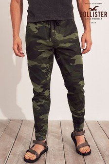 Hollister Black Camo Trousers