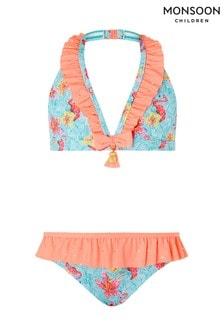 Monsoon Skye Bikini im Flamingo-Design