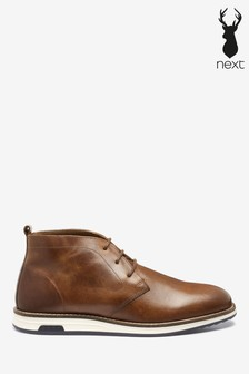 Wedge Sole Chukka Boots