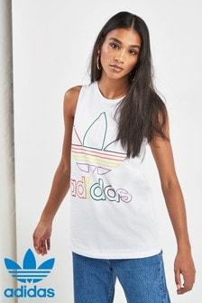 adidas Originals White Pride Vest