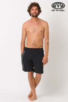Animal Black Belos Elasticated Boardshort