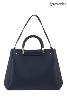 Accessorize Blue Olivia Tote Bag