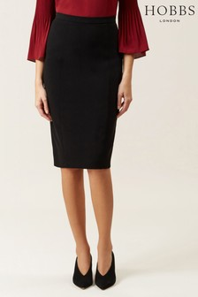 Hobbs Black Mina Skirt