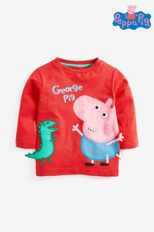 Long Sleeve Peppa Pig™ T-Shirt (3mths-8yrs)