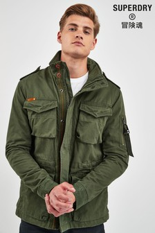 Superdry Green Rookie Jacket