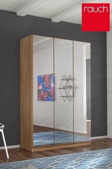 Cameron Oak Effect Triple Hinged Wardrobe by Rauch