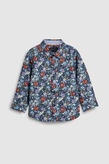 Camisa estampado flores (3 meses-7 años)