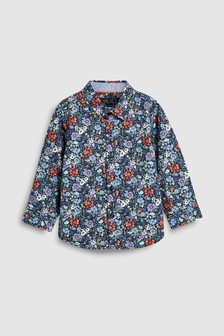 Floral Printed Shirt (3mths-7yrs)