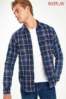 Replay® Check Shirt
