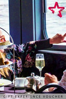 Cream Tea On The Thames With Bucks Fizz For Two Gift Experience by Activity Superstore