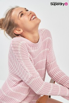 Superdry Pink Slouch Knit