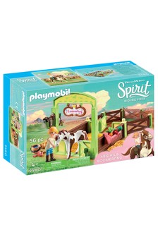 Playmobil® DreamWorks Spirit 9480 Horse Box Abigail