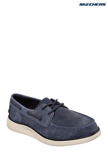 Skechers® Navy Status 2 Form Shoe