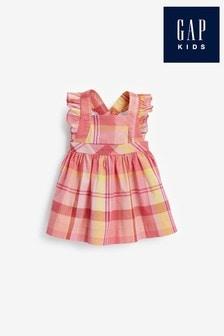 Gap Baby Oversized Check Dress