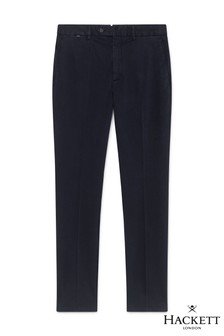 Hackett Navy Kensington Slim Fit Chino