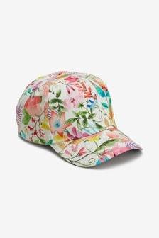 قبعة كاب زهور (الأطفال الكبار)