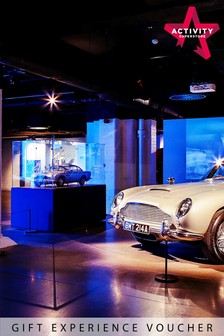 Bond In Motion Exhibition With Cream Tea Or A Meal For Two