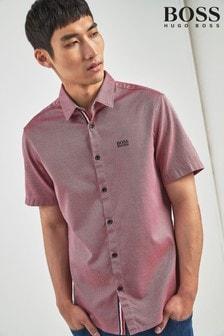 BOSS Red Brodi Logo Short Sleeve Shirt