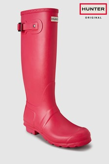 Hunter Women's Pink Original Tall Welly