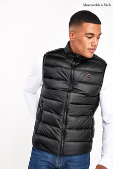 Abercrombie & Fitch Black Gilet