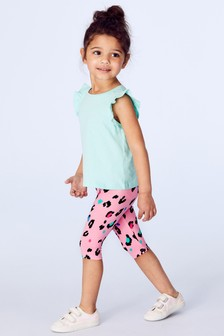 9d984d46b15fe Buy Girls Youngergirls Youngergirls Pink Pink Leggings Leggings from ...