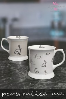 Personalised Bunny Tankard Set by Signature PG