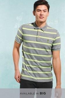 Neon Stripe Polo