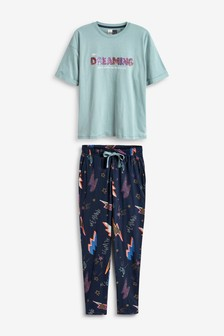 Short Sleeve Cotton Pyjamas