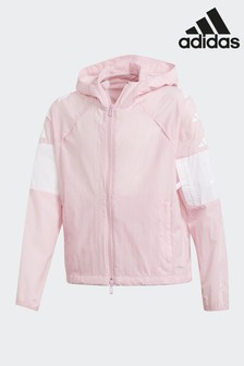 adidas Badge Of Sport Pink ID Hype Wind Jacket