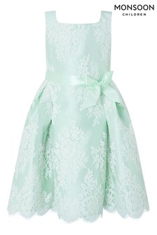 Monsoon Valeria Mint Lace Dress