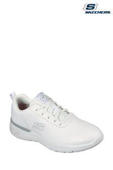 Skechers® White Marsing-Gmina Slip Resistant Trainers