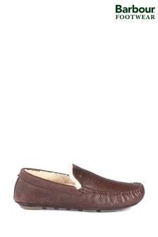 Barbour® Monty Dark Brown Slippers