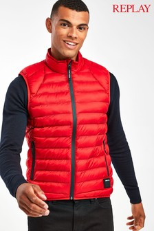 Replay® Red Gilet