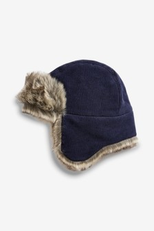 Cord Trapper Hat (Younger)