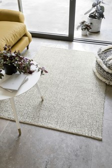 Dashed Stripe Wool Rug