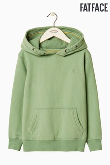 FatFace Green VW Popover Sweat