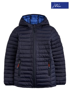 Joules Blue Cairn Boys Packable Jacket
