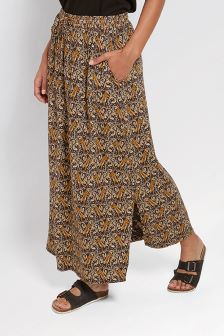 FatFace Phantom Jessica Tiger Vine Maxi Skirt