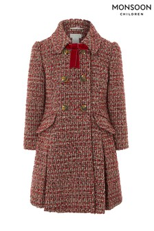 Monsoon Amber Tweed Coat