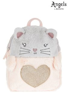 Angels By Accessorize Charlotte Cat Fluffy Backpack