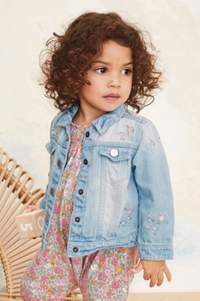 Embroidered Denim Jacket (3mths-7yrs)