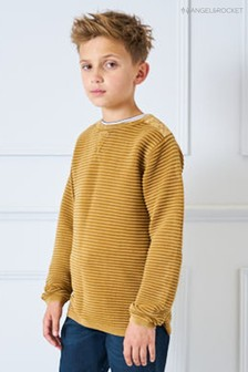 Angel & Rocket Camel Ripple Stripe Jumper