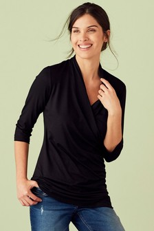 Maternity Nursing Wrap Top