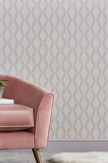 Роскошные обои с геометрическим 3D-рисунком Paste The Wall